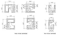 Tiny bathroom arrangements.bottom left switch toilet/sink and swap to toehr side. pocekt door no swing