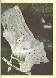 🐇 Colcha em Crochê Sonolento Coelho Criações itens decorativos -  /  🐇 Bedspread up Crochet  Hooks Bunny's Sleepy Knacks Creations -