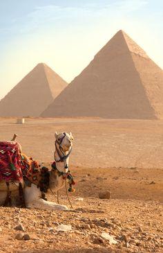 Giza, Egypt, era mi sueño, ahora es una foto de nuestra luna de miel