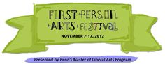 First Person Festival of Memoir and Documentary Art - November 8-19, 2012. Taking place at various venues throughout the city. #SEPTA