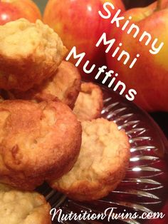 We're so excited about these muffins for so many reasons! Unbelievably, their 20 calories each! And truthfully, we can barely believe it ourselves that… Healthy Recipes, Healthy Desserts, Snack Recipes, Cooking Recipes, Healthy Muffins, Healthy Foods, Sport Nutrition, Nutrition Tips, Nutrition Plans