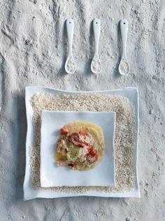 Ριζότο με χταπόδι και σύγκλινο
