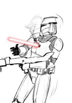 obi wan kenobi clone wars how to draw head