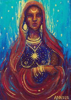 Pintura y fotografía: Trascendecia ancestral