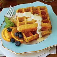 Georgia Grits Waffles | MyRecipes.com