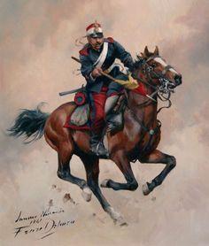 Lanceros de Numancia 1861