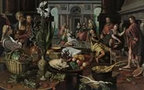 Christ in the House of Martha and Mary - Pieter Aertsen