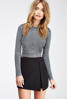 Shop Forever wide range of women's bottoms - pants, skirts, shorts, leggings, jeans and more! 6th Form Outfits, Girl Outfits, Cute Outfits, Fashion Outfits, Womens Fashion, Cosy Outfit, Wrap Skort, La Fashion Week, Shorts