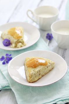 Buttermilk Poppyseed Citrus Scones