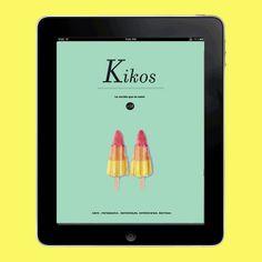 Kikos Magazine for iPad by Virginia Pol, via Behance