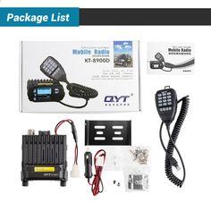 क्यूवाईटी केटी -8 9 00 डी कार रेडियो। 25W 136-174 मेगाहर्ट्ज 400-480 मेगाहर्ट्ज मिनी डुअल बैंड मोबाइल रेडियो, वाहन दो तरह का रेडियो, क्वाड डिस्प्ले