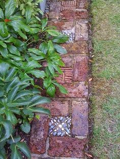 Edging idea for the garden