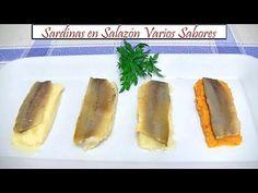 Sardinas en Salazón Varios Sabores   Receta de Cocina en Familia - YouTube