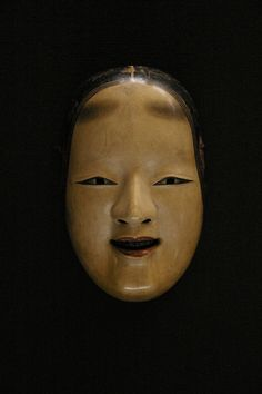 Noh mask from the edo period (17th century), Japan