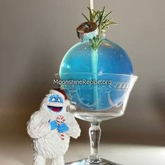 How To Make Abominable Blue Ball Cocktail: How To Make Moonshine, Moonshine Still, Cocktail Garnish, Cocktail Drinks, Hard Drinks, Butterfly Pea Flower, Fun Cocktails, Fresh Lemon Juice, Pina Colada