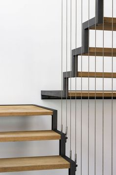 Image 30 of 37 from gallery of JA House / Filipe Pina + Maria Ines Costa. Photograph by Joao Morgado Interior Staircase, Staircase Design, Staircase Ideas, Architecture Details, Interior Architecture, Interior Design Your Home, Balustrades, Glass Stairs, Stair Handrail