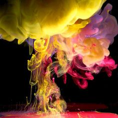 Photographer Mark Mawson has published a great show of fourteen brand-new underwater ink photographs entitled Aqueous Fluoreau. The pictures happen to be Underwater Photography, Art Photography, Underwater Art, Advertising Photography, Digital Photography, Amazing Photography, Foto Poster, Paint Drop, Ink In Water