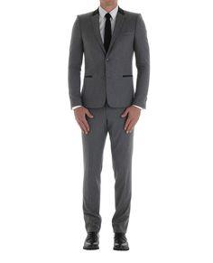 Suit TK Costume Gris, Kooples, Costumes, Suit Jacket, Breast, Suits, Deco, Jackets, Inspiration