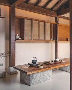 Loft Interior Design, Interior Architecture, Small Room Bedroom, Modern Bedroom, Mini Cafe, Asian House, Traditional Japanese House, Loft Interiors, Japanese Interior