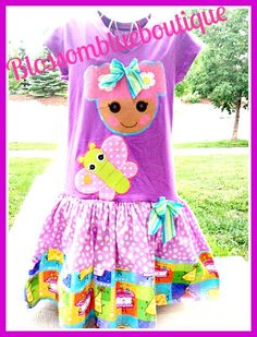 LaLaLoopsy Happy Birthday custom boutique by BlossomBlueBoutique, $39.99
