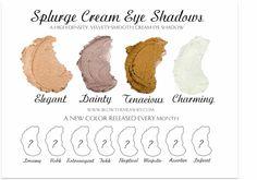 New splurge cream shadows! A new color will be released every month!! www.fabulashesbyjenniferlynn.com