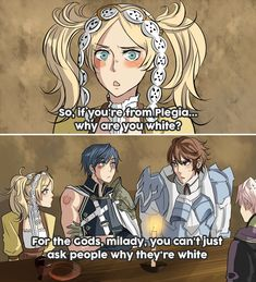 Fire Emblem Awakening - But you're white.. by Kaprikume