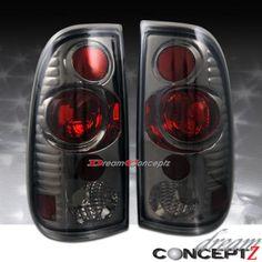 97-98-99-00-01-03-FORD-F150-04-05-F250-F350-TAILLIGHTS-LIGHT-SMOKE-LENS Chevy Trailblazer, Tail Light, Car Accessories, Truck, Lens, Ford, Smoke, Auto Accessories, Trucks