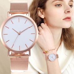 Luxury Ladies Watch – Fashionable Women's Wrist Watch. #watch #FashionableWomensWristWatch #LuxuryLadiesWatch
