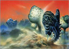 Astrona: Chris Foss Illustrations and Sci-Fi Art | Space and Astronomical Art Journal