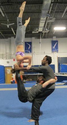 Motion Design Acrobatic yoga