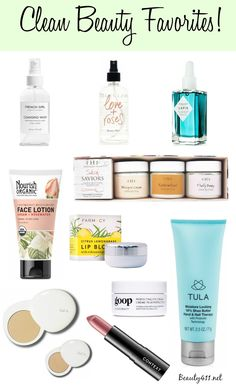 Learn how to incorporate more Clean Beauty products into your beauty routine!