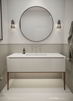 Minosa Design: Classic Modern Bathroom by Minosa