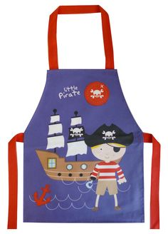 Little Pirate Apron by Shreds