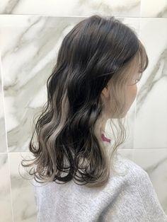 Pink Hair Streaks, Dyed Hair Blue, Hair Dye Tips, Dye My Hair, Hair Dyed Underneath, Peekaboo Hair Colors, Aesthetic Hair, Light Hair, Hair Highlights