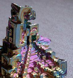 """Bismuth """"hopper"""" crystal"""