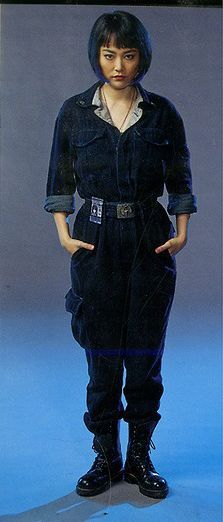 Physical appearance: Mako Mori is seen wearing a blue jumpsuit and military boots. Rinko Kikuchi, Pacific Rim, Fiction Movies, Blue Jumpsuits, Gal Pal, Female Characters, Poses, Cosplay Costumes, Character Inspiration