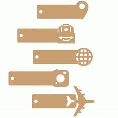 Silhouette Design Store - Search Designs : travel label