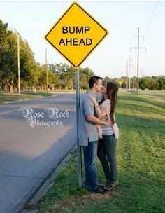 Bump Ahead pregnancy announcement ♡