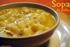 Cocina Varoma: Sopa de pollo, de mamá...