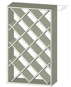 Diamond Shaped Wine Rack Plans - The Best Image Search