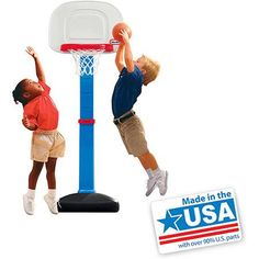 24- Little Tikes TotSports Easy Score Basketball Set