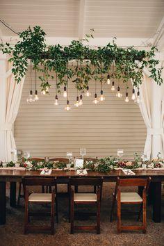 Beautifully Boho Fall Garden Wedding The Deco Restaurant, Nashville Wedding Venues, Diy Home Decor, Room Decor, Cafe Interior Design, Autumn Garden, Hanging Plants, Hanging Flowers, Garden Wedding
