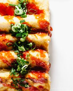 Spicy #Sriracha Honey Lime Tofu #recipe