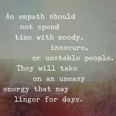 transfer of energy, it's real. I'm not an empathy but I feel things coming. I feel people's energy. It affects me deeply Empath Traits, Intuitive Empath, Psychic Empath, Empath Abilities, Infj Personality, Introvert, Infp, Wise Words, Life Quotes