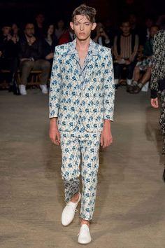 Alexander McQueen Spring/Summer 2016 during London Collections: Men