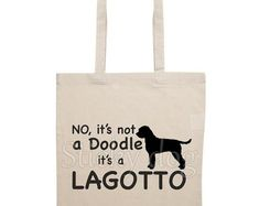 T-shirt Lagotto Romagnolo dog silhouette Lagotto Romagnolo, Dog Silhouette, Vinyl Cutter, Messages, Dogs, T Shirt, Etsy, Tee Shirt, Pet Dogs