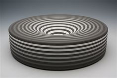 Jin Eui Kim  Untitled, - 2011    308*308*75    Earthenware