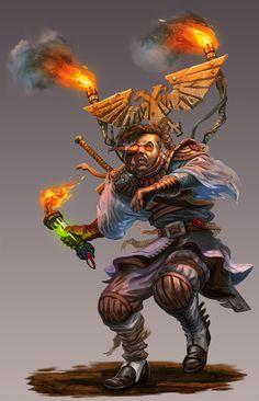 "inquisitors-art-gallery: "" Burdener NPC: Warhammer 40K-Dark Heresy by jubjubjedi """