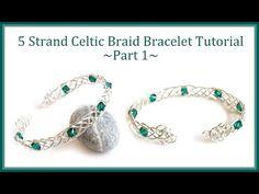 Multi Stranded Wire Braided Cuff Tutorials ~ The Beading Gem's Journal