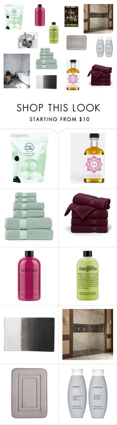 """""""Bathroom"""" by hageranne on Polyvore featuring interior, interiors, interior design, home, home decor, interior decorating, Me! Bath, REN, Royal Velvet and Brooks Brothers"""